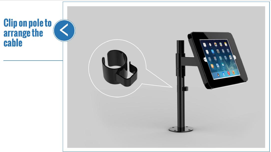 Tính năng giá đỡ máy tính bảng để bàn SC-501