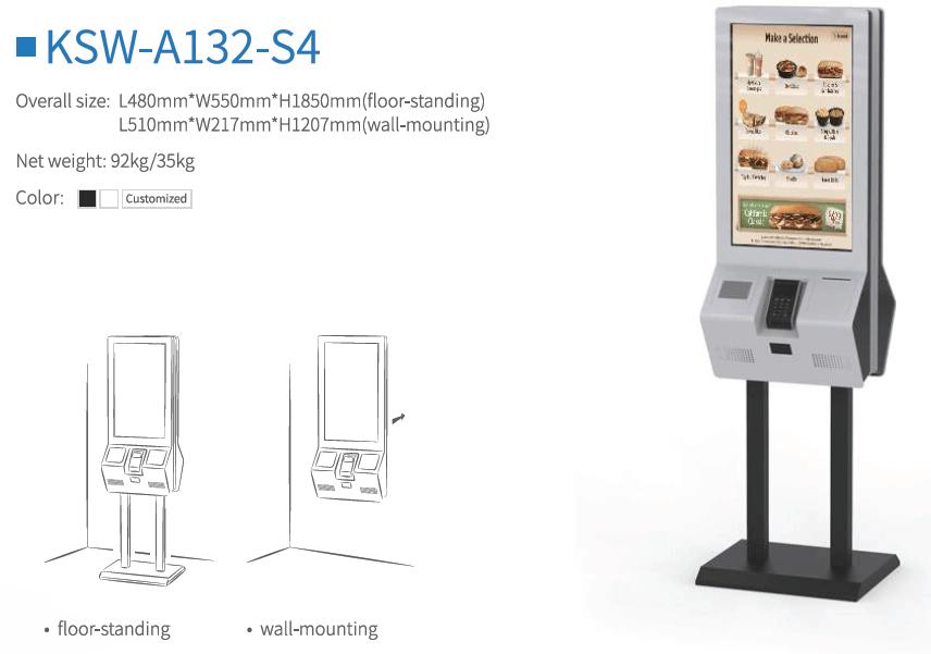 Máy tự phục vụ - Hệ thống tự phục vụ - Máy tự tính tiền