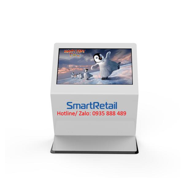 Màn hình quảng cáo cảm ứng chân quỳ - 0935888489