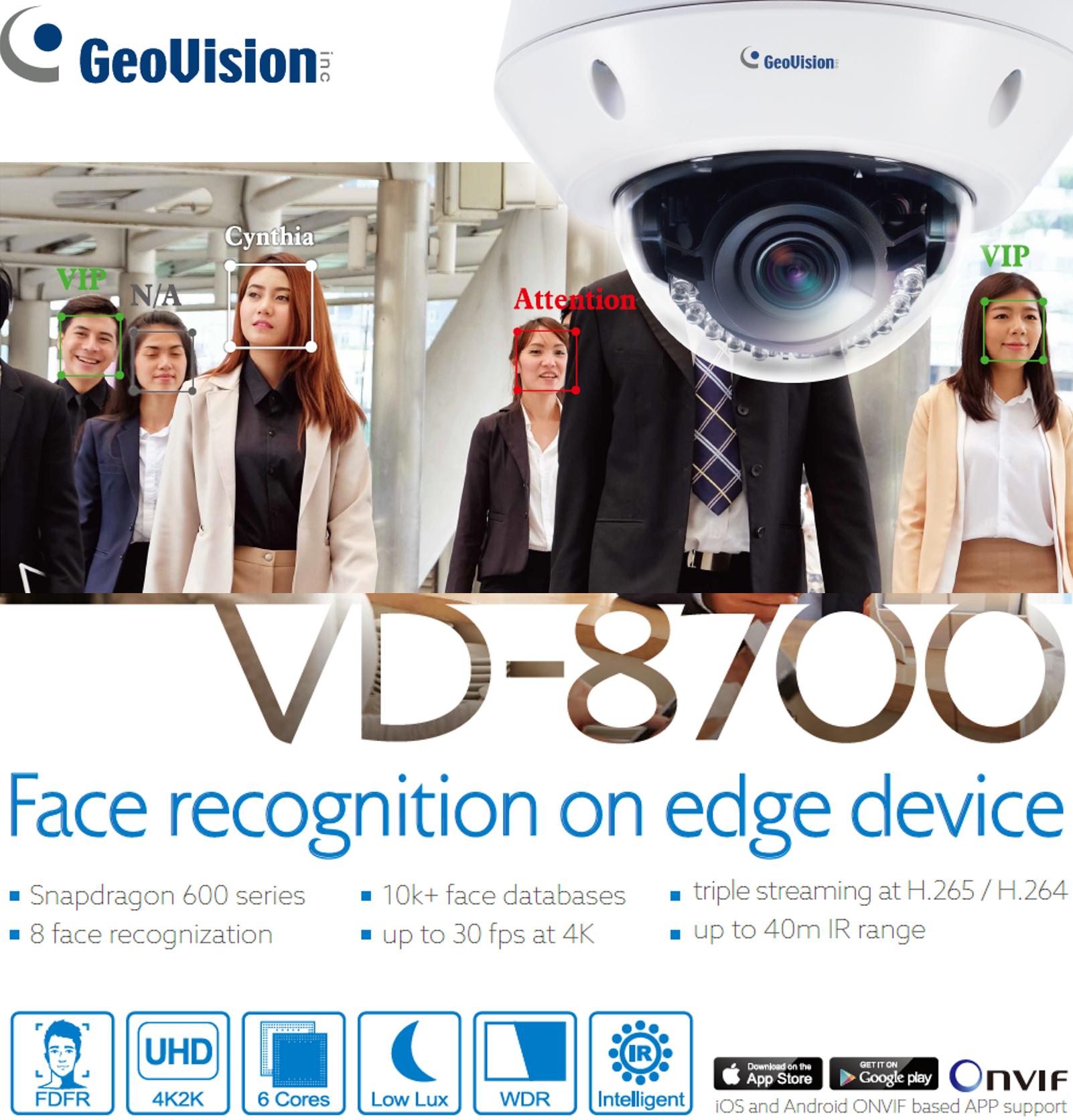 Camera nhận diện khuôn mặt VD-8700
