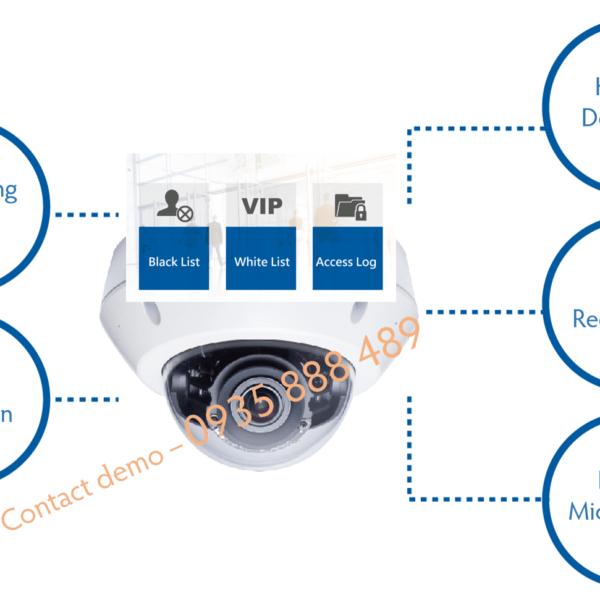 SmartRetail Camera IP nhận dạng khuôn mặt GV VD8700 4