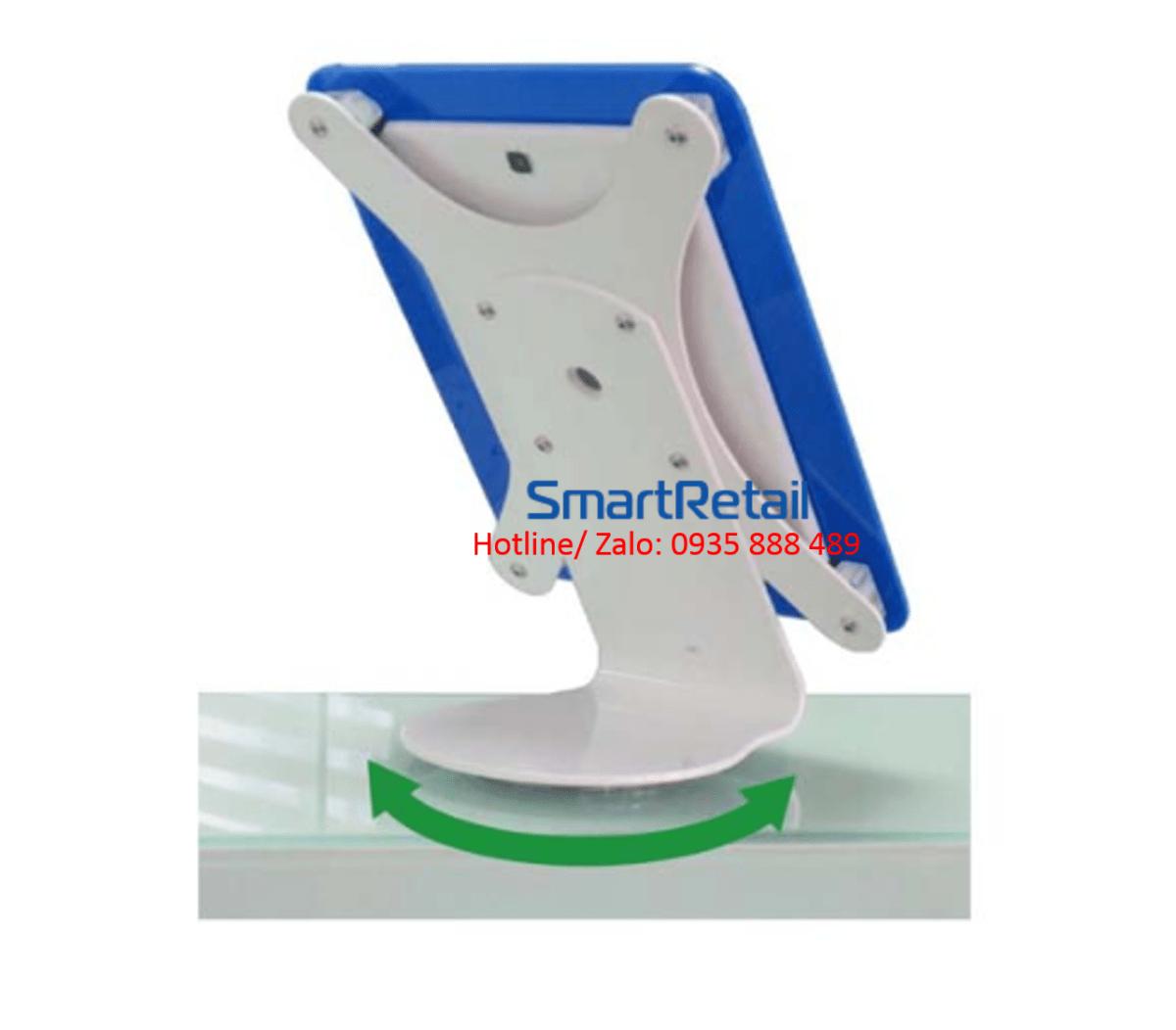 SmartRetail Giá đỡ máy tính bảng để bàn LST02 A 6