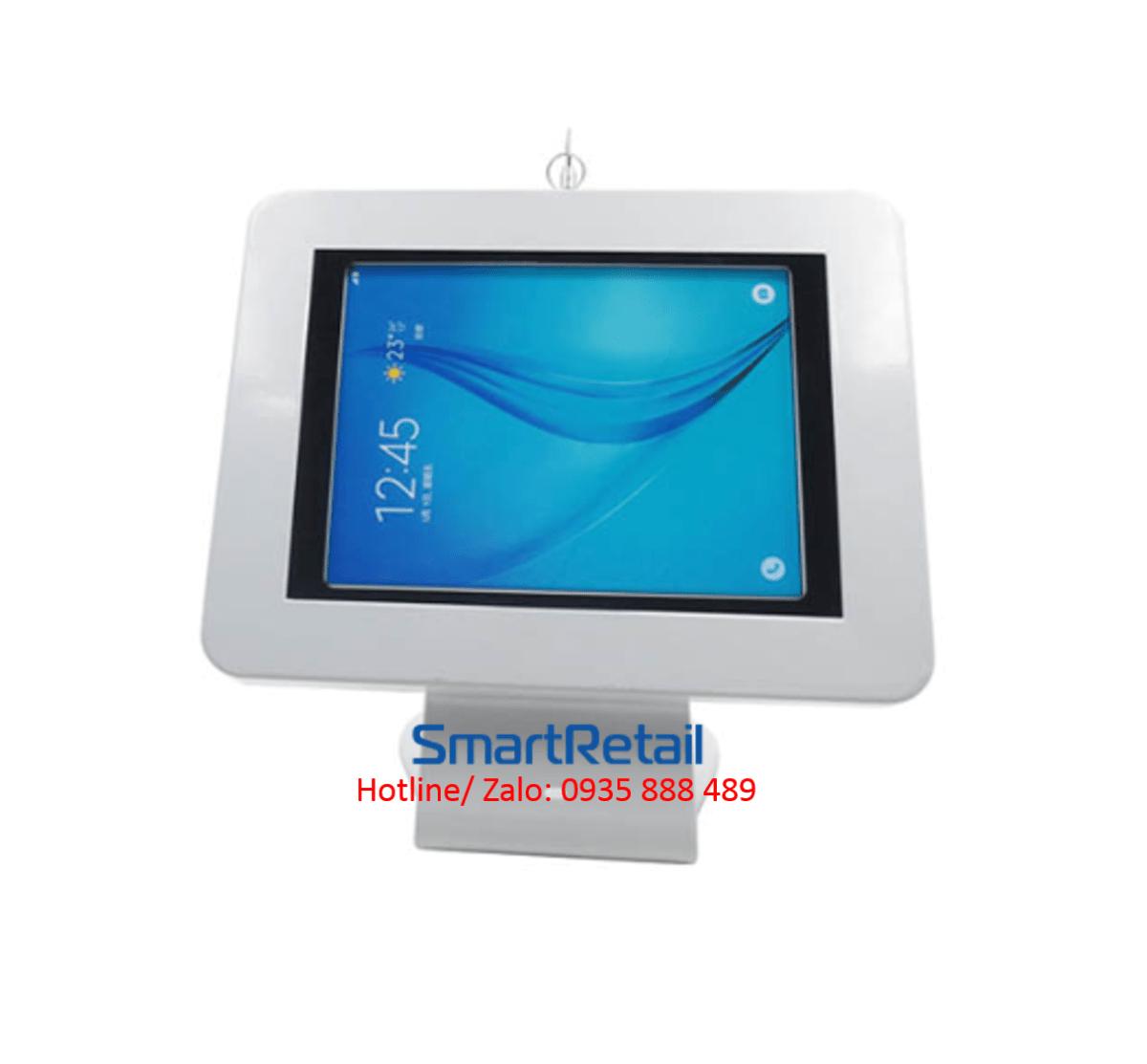 SmartRetail Giá đỡ máy tính bảng để bàn LST02 C 2