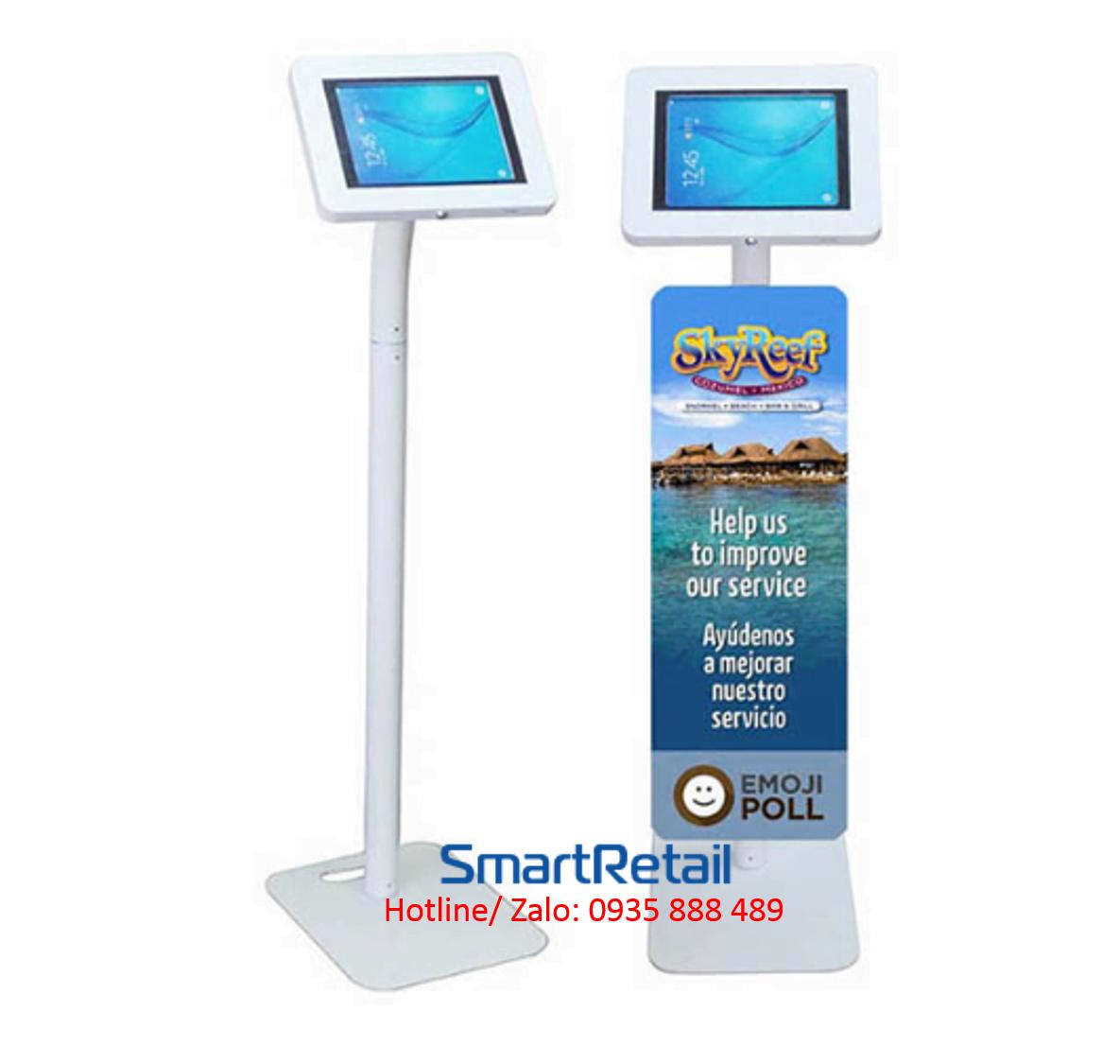 SmartRetail Giá đỡ máy tính bảng chân đứng LFS01 A 6