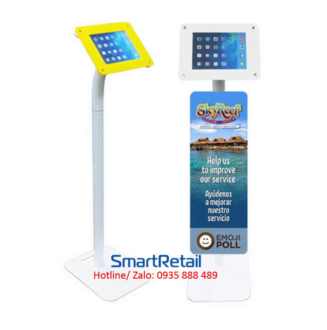 SmartRetail Giá đỡ máy tính bảng chân đứng LFS01 B 1