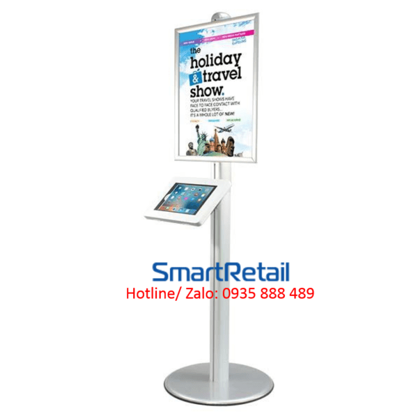 SmartRetail Giá đỡ máy tính bảng chân đứng LSF04 C 15