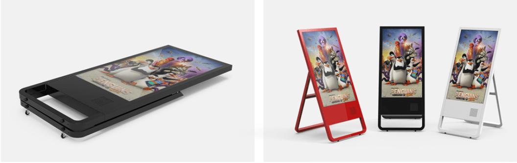 Màn hình quảng cáo di động 43 inch - Màn hình LCD quảng cáo chuyên dụng