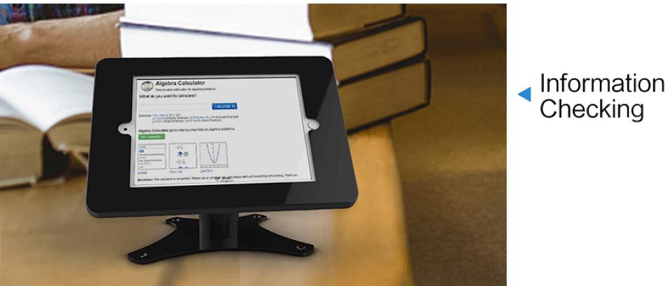 Ứng dụng Giá đỡ máy tính bảng để bàn SC-304C