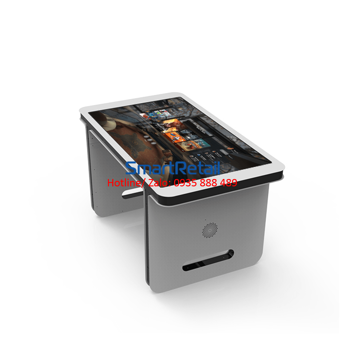 SmartRetail bàn màn hình quảng cáo 55 inches 2