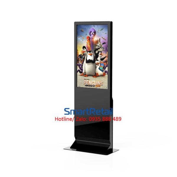 SmartRetail màn hình quảng cáo chân đứng 43 inches 3