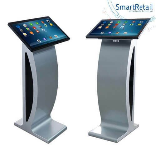 Màn hình cảm ứng chân quỳ | Màn hình LCD cảm ứng chân quỳ | Màn hình quảng cáo chân quỳ - SmartRetail