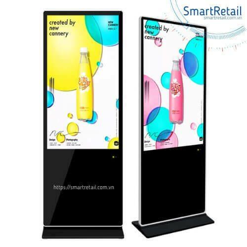 Màn hình quảng cáo cảm ứng chân đứng | Màn hình LCD cảm ứng chân đứng | Digital Standee Touchscreen - SmartRetail