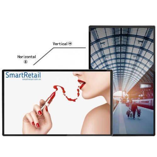 Màn hình quảng cáo cảm ứng treo tường | Màn hình quảng cáo treo tường | Màn hình cảm ứng treo tường - SmartRetail