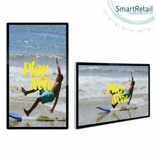 Màn hình quảng cáo treo tường | Màn hình LCD treo tường | Màn hình LCD Digital Signage - SmartRetail