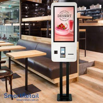 Máy POS bán hàng tự đặt món - Self Ordering - SmartRetail