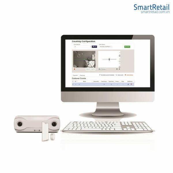 Thiết bị đếm người 3D Gen2 - Thiết bị Camera đếm người BrickStream - SmartRetail