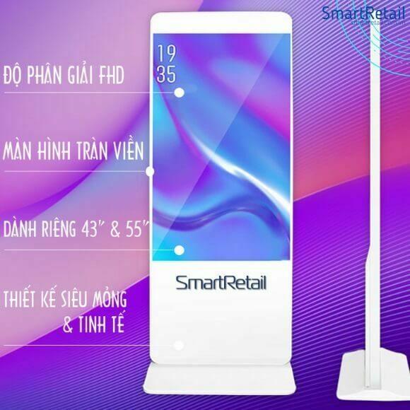 Màn hình quảng cáo chân đứng | Digital Standee | Standee điện tử - SmartRetail