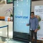Màn hình LCD quảng cáo chân đứng 98 inch | SmartRetail | 0935888489