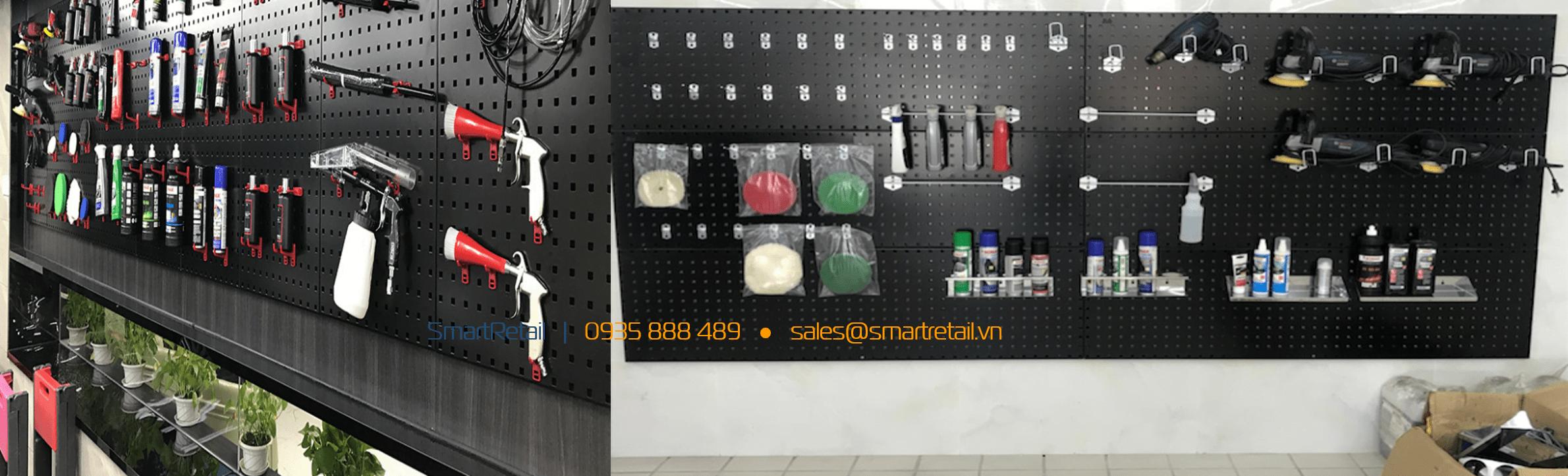 Bảng treo dụng cụ sửa chữa - SmartRetail - 093588849
