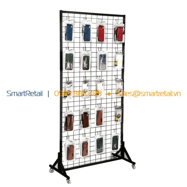 Khung lưới sắt treo phụ kiện hàng hóa - SmartRetail - 0935888489