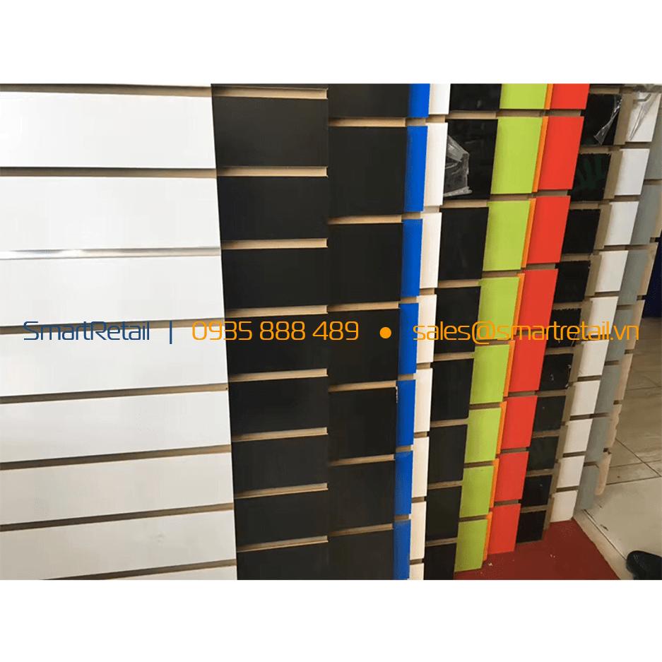 Tấm gỗ Slatwall MDF - SmartRerail - 0935888489