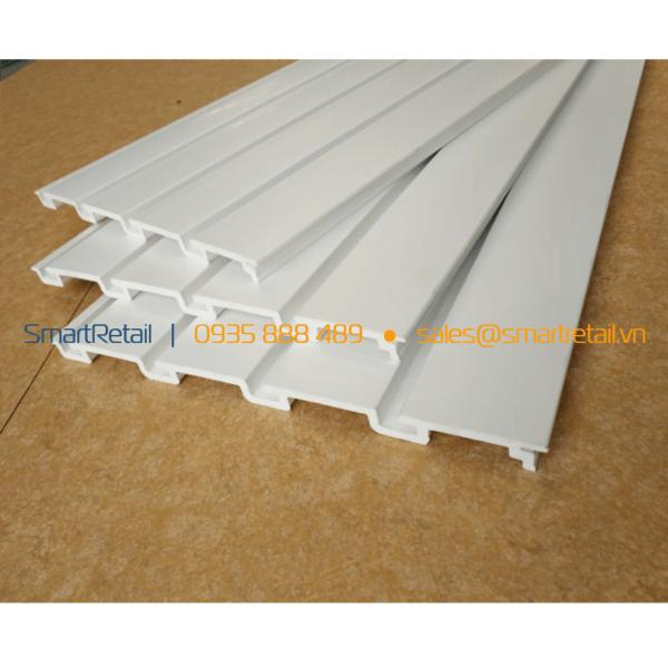 Tấm nhựa Slatwall PVC - SmartRetail - 0935888489