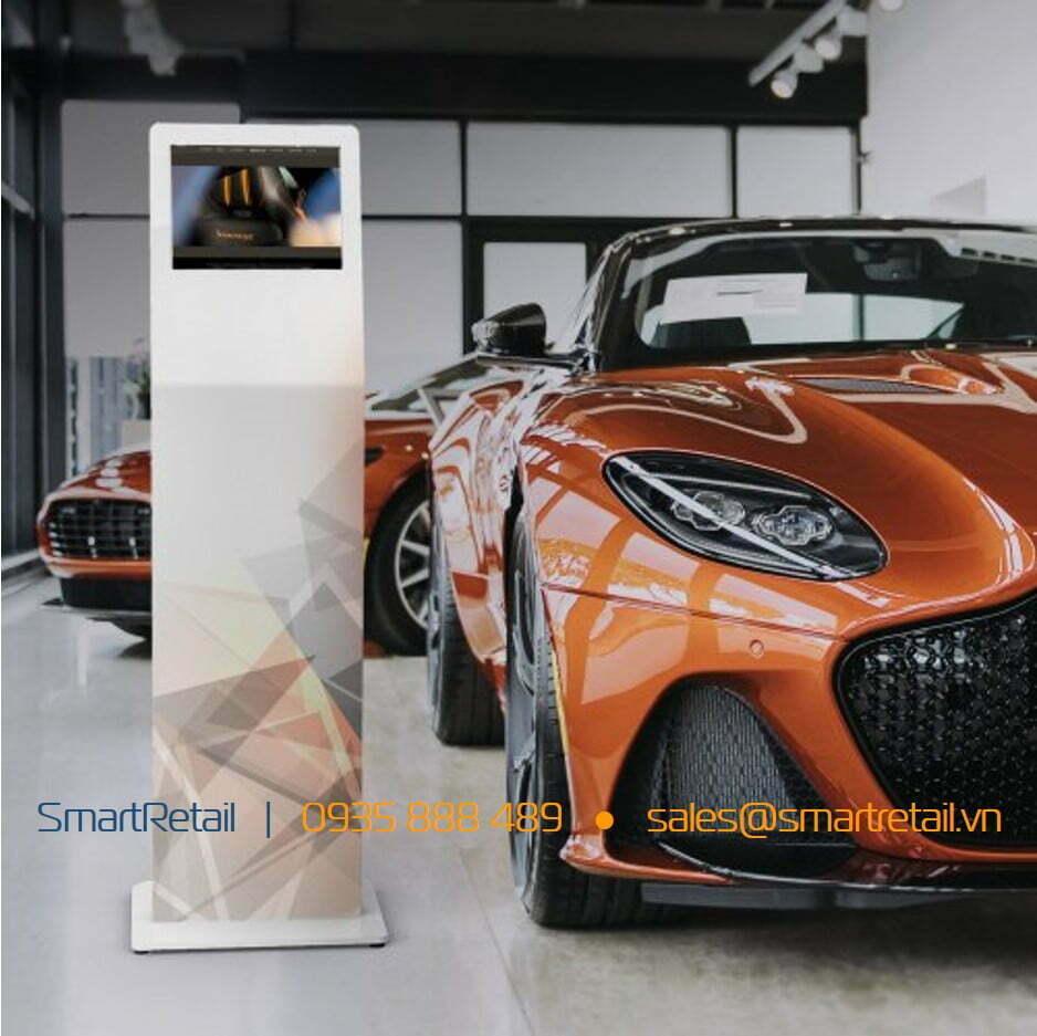 Thiết bị bảo vệ Tablet chân đứng cao cấp - SmartRetail - 0935888489