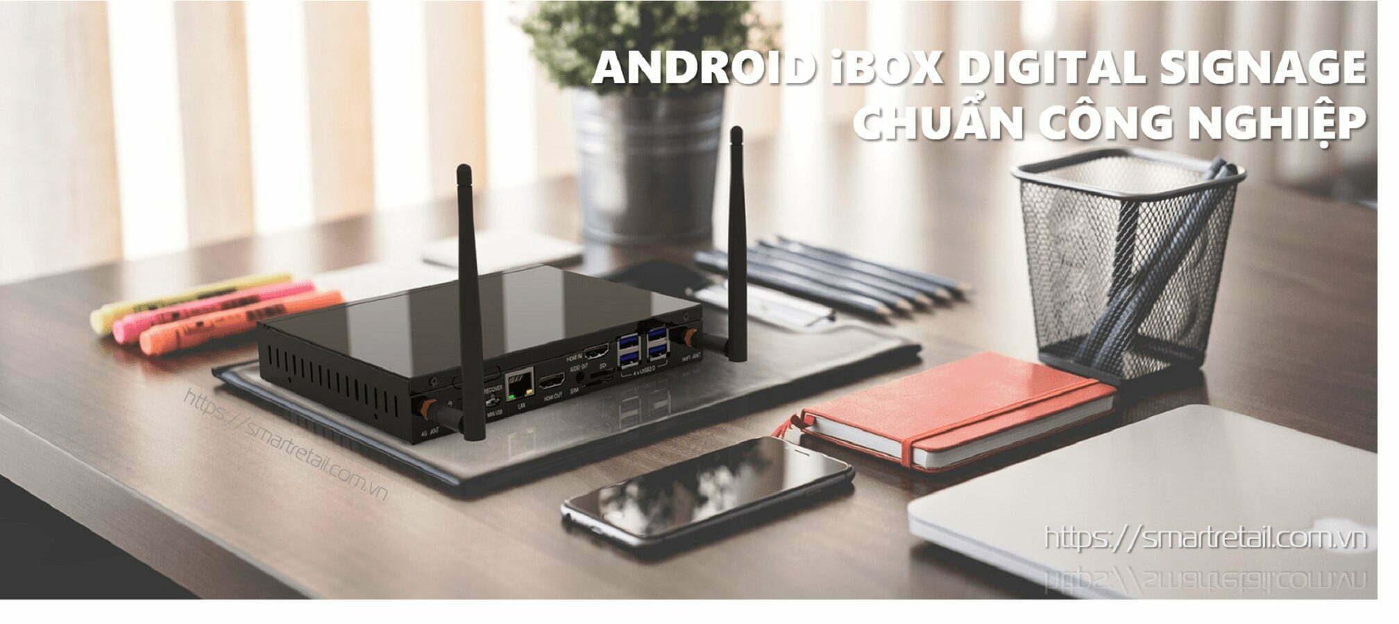 Thiết bị quản lý màn hình tập trung - Android Box Digital Signage