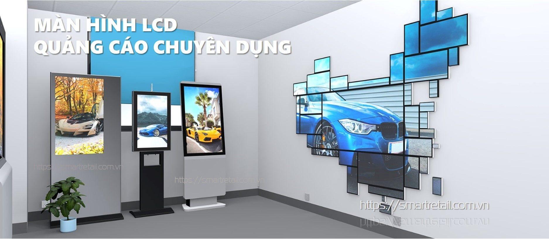 Màn hình LCD quảng cáo chuyên dụng năm 2021