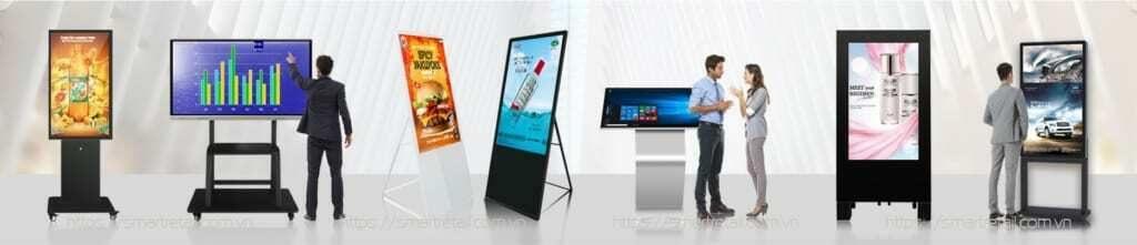 Các loại màn hình quảng cáo LCD chuyên dụng