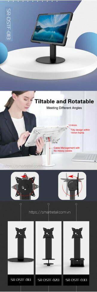 Giá đỡ máy tính bảng để bàn SR-DSTF-0113 - SmartRetail