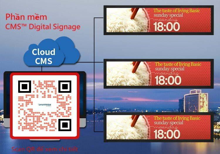 Phần mềm quản lý màn hình tập trung - CMS Digital Signage