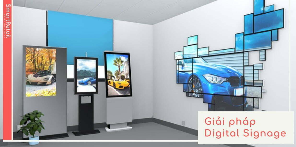Digital Signage là gì   Giải pháp quản lý từ xa tất cả màn hình chạy quảng cáo tập trung trên một hệ thống   SmartRetail