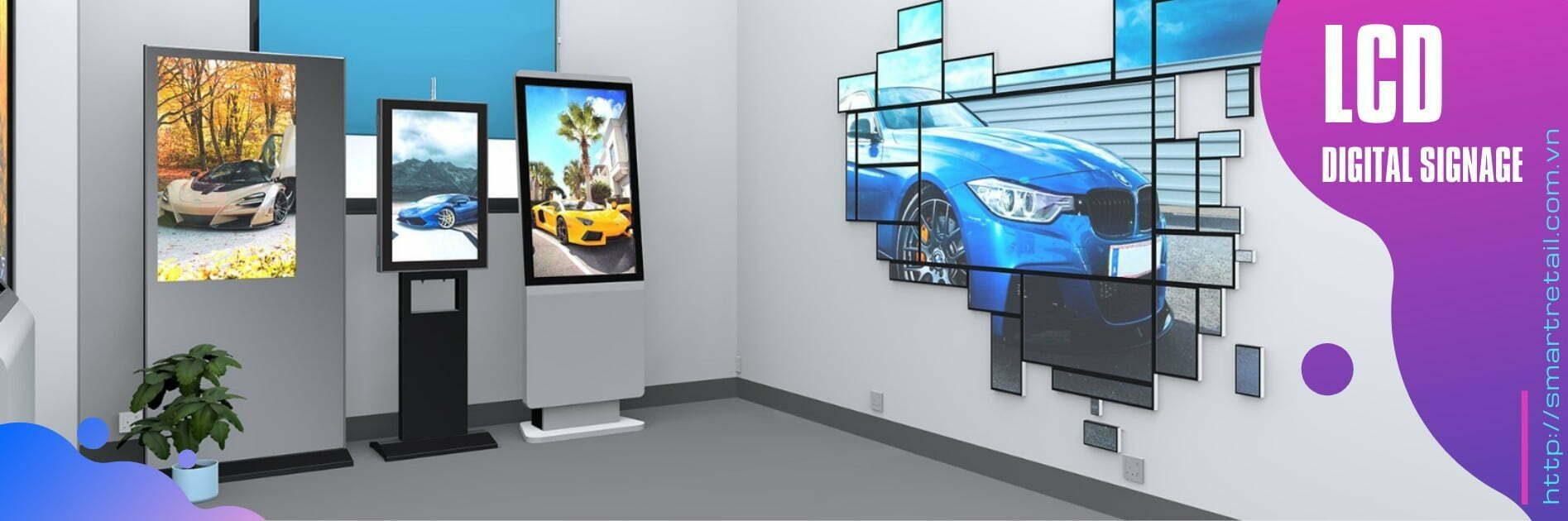 Màn hình LCD chạy quảng cáo - Màn hình chạy quảng cáo Digital Signage | SmartRetail