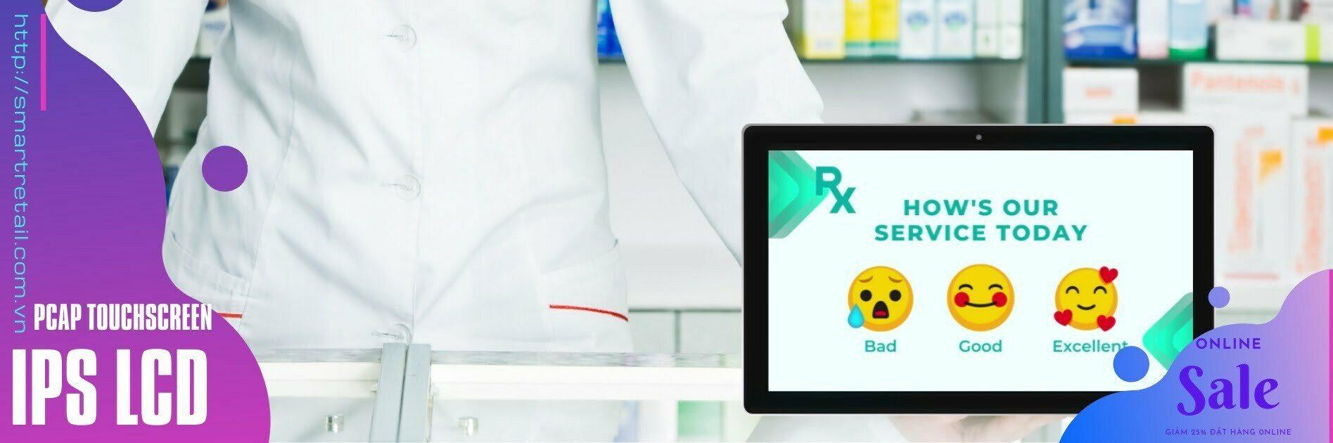 Màn hình cảm ứng quảng cáo để bàn - Máy tính bảng để bàn | SmartRetail