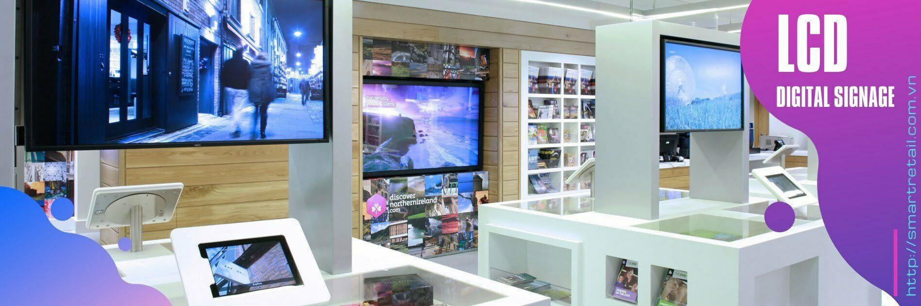 Màn hình quảng cáo LCD - Màn hình Digital Signage | SMartRetail