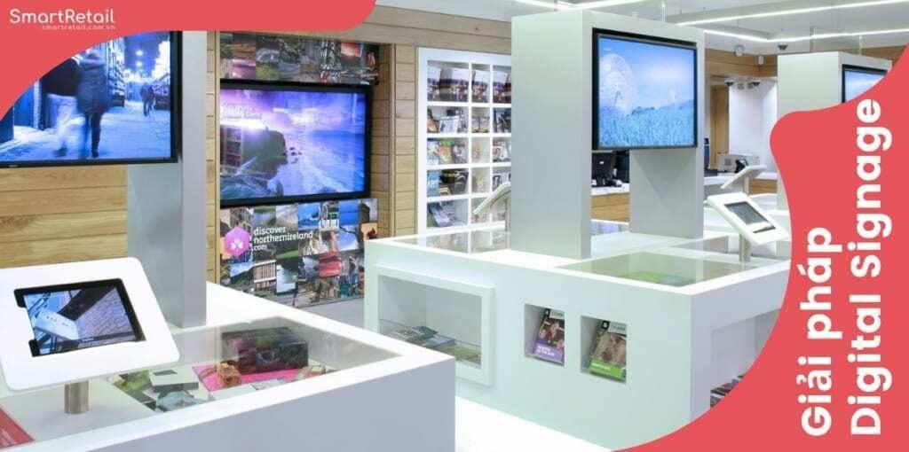 Quản lý màn hình tập trung | Giải pháp quản lý màn hình LCD chạy quảng cáo Digital Signage - SmartRetail