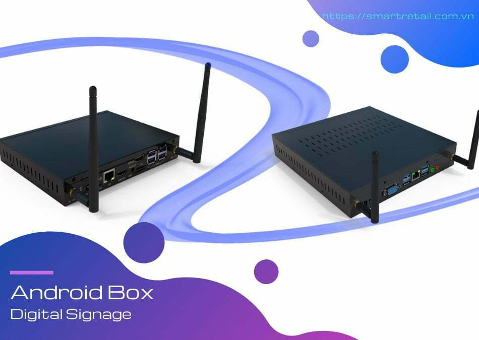 Tận dụng TV làm màn hình quảng cáo chuyên dụng - Android Box Digital Signage | SmartRetail